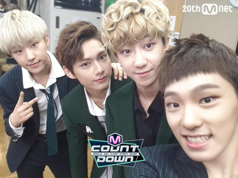[OFFICIAL] 151001 MCOUNTDOWN Twitter Update #세븐틴 #만세 3
