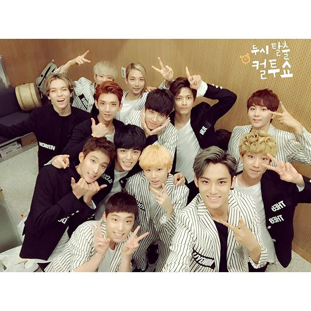 [OFFICIAL] 151004 Cultwo Show Instagram Update #세븐틴