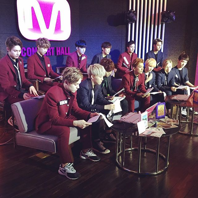 [OFFICIAL] 151005 Mwave Instagram Update #세븐틴