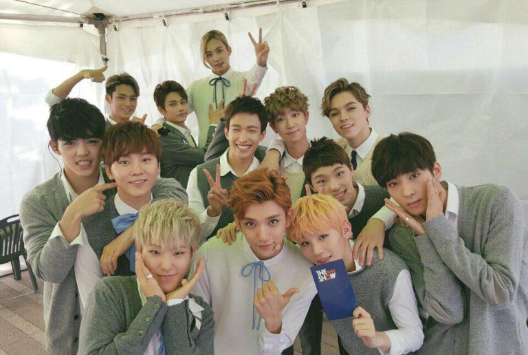 [OFFICIAL] 151006 SBS MTV The Show Twitter Update @SBS_MTV #만세 #세븐틴 #더쇼 1