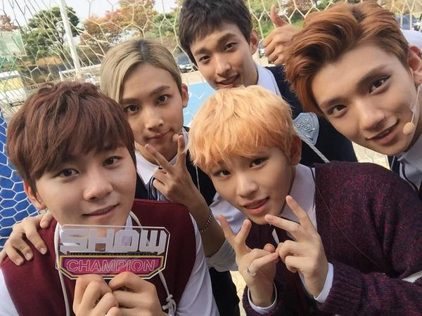 [OFFICIAL] 151007 MBC Show Champion Twitter Update #세븐틴 1