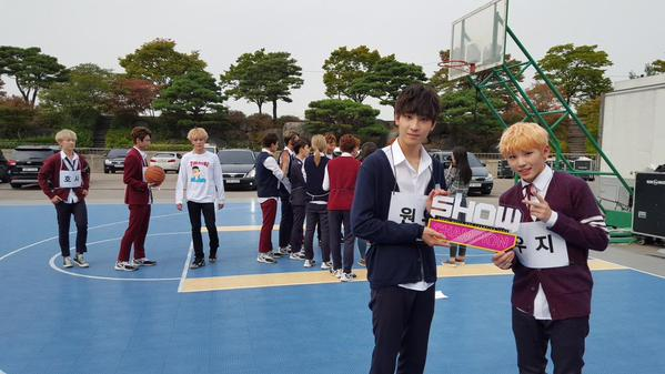 [OFFICIAL] 151007 MBC Show Champion Twitter Update #세븐틴 6