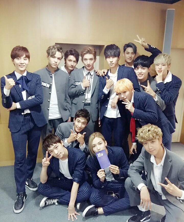 [OFFICIAL] 151012 SBS MTV The Show Twitter Update @SBS_MTV #만세 #세븐틴 #더쇼