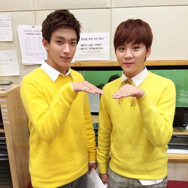 [OFFICIAL] 151014 Sukira Instagram Update #세븐틴 #도겸 #승관 1
