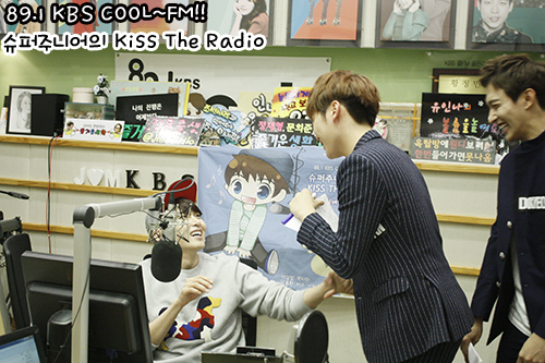 [OFFICIAL] 151023 KBS Kiss The Radio Update (Sukira) w Seventeen's DK and Seungkwan 6P #세븐틴 #도겸 #승관 2