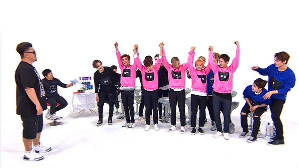 [OFFICIAL] 151026 #주간아이돌 (Weekly Idol) Twitter Update #세븐틴 2