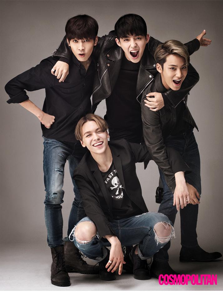 [OFFICIAL] 151027 Cosmopolitan Star Interview 'Next Idol, Seventeen Unit' (Hip-Hop Team) #힙합팀 #에스쿱스 #원우 #민규 #버논