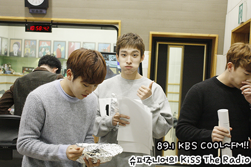 [OFFICIAL] 151029 KBS Kiss The Radio Update (Sukira) w Seventeen's DK and Seungkwan 9P #세븐틴 #도겸 #승관 6