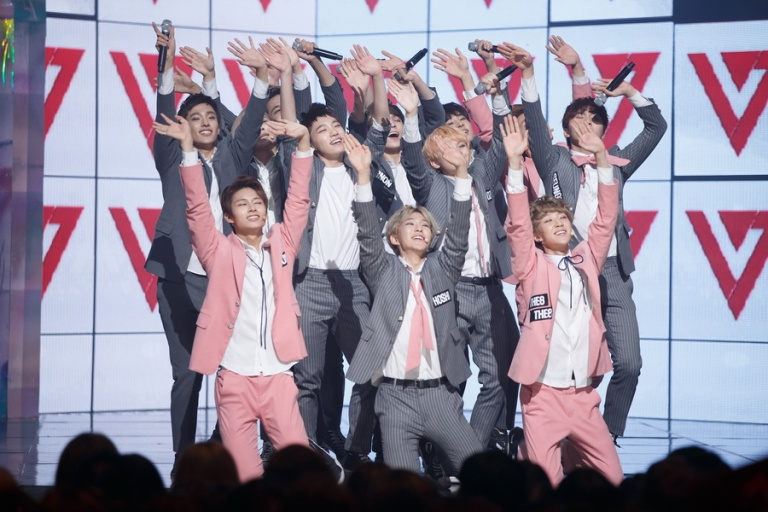 [OFFICIAL] Mnet America Update 151008 M Countdown #Seventeen – #Mansae 11P #세븐틴 #만세 11
