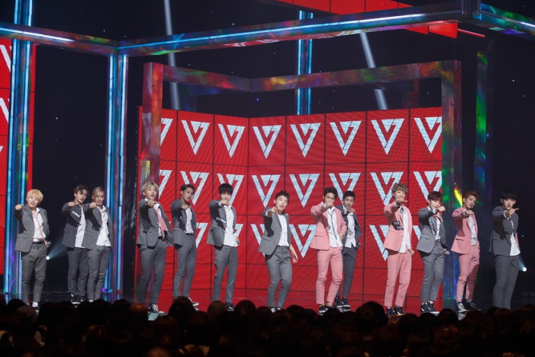 [OFFICIAL] Mnet America Update 151008 M Countdown #Seventeen – #Mansae 11P #세븐틴 #만세 8