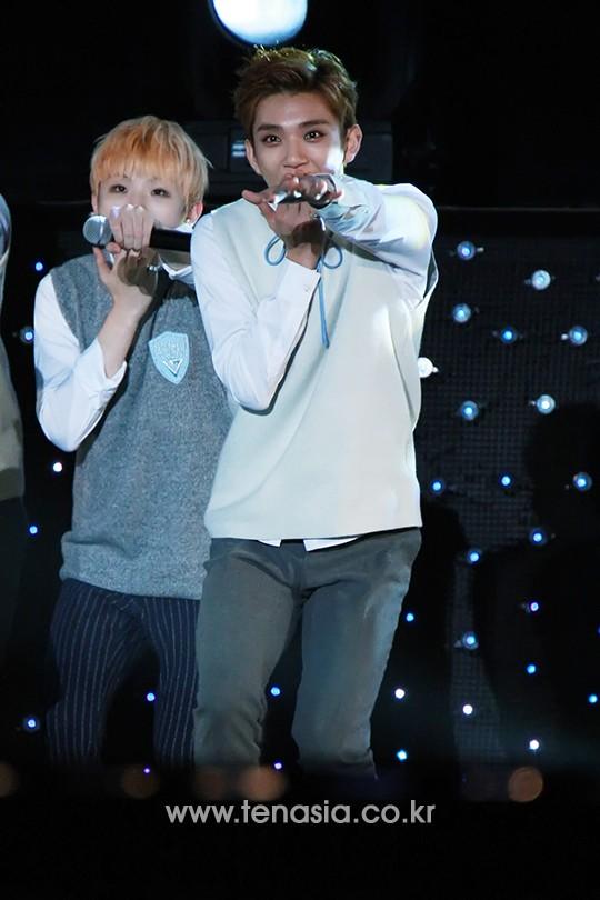 [PRESS] 151006 Seventeen at SBS MTV The Show 18P @SBS_MTV #만세 #세븐틴 #더쇼 16