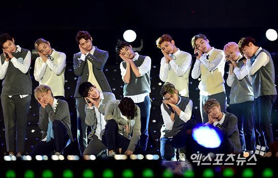[PRESS] 151006 Seventeen at SBS MTV The Show 18P @SBS_MTV #만세 #세븐틴 #더쇼 25