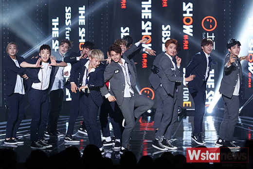 [PRESS] 151012 Seventeen at SBS MTV The Show 35P @SBS_MTV #만세 #세븐틴 #더쇼 6