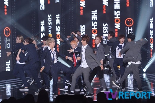 [PRESS] 151012 Seventeen at SBS MTV The Show 35P @SBS_MTV #만세 #세븐틴 #더쇼 7