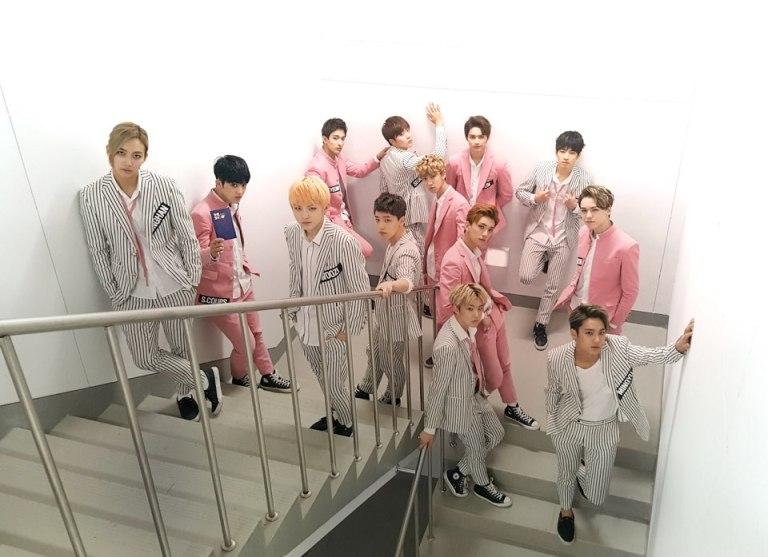 [OFFICIAL] 151103 SBS MTV The Show Twitter Update @SBS_MTV #만세 #세븐틴 #더쇼