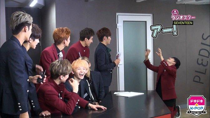 [OFFICIAL] 151105 エムオン!K-POP Twitter Update #세븐틴 1