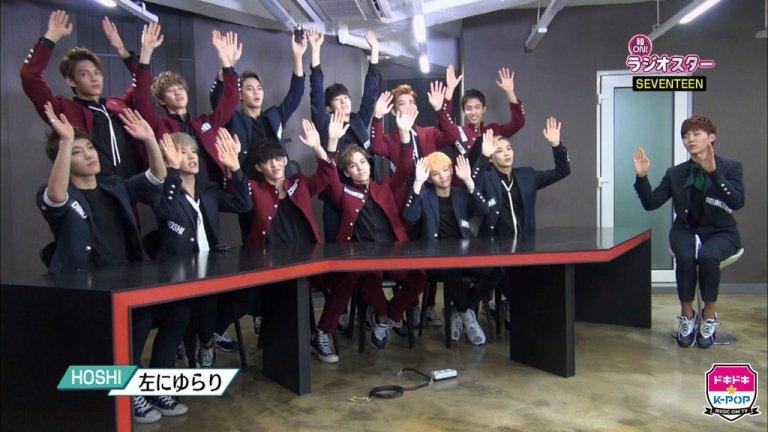 [OFFICIAL] 151105 エムオン!K-POP Twitter Update #세븐틴 4