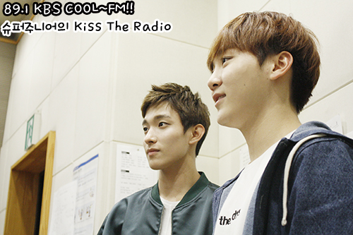 [OFFICIAL] 151105 KBS Kiss The Radio Update (Sukira) w Seventeen's DK and Seungkwan 8P #세븐틴 #도겸 #승관 4