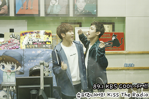 [OFFICIAL] 151105 KBS Kiss The Radio Update (Sukira) w Seventeen's DK and Seungkwan 8P #세븐틴 #도겸 #승관 6