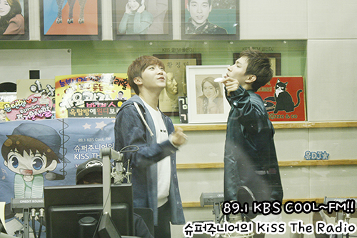 [OFFICIAL] 151105 KBS Kiss The Radio Update (Sukira) w Seventeen's DK and Seungkwan 8P #세븐틴 #도겸 #승관 7