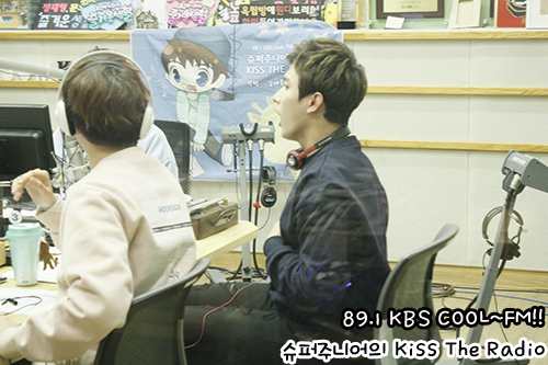 [OFFICIAL] 151113 KBS Kiss The Radio Update (Sukira) w Seventeen's DK and Seungkwan 10P #세븐틴 #도겸 #승관 1