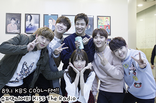 [OFFICIAL] 151113 KBS Kiss The Radio Update (Sukira) w Seventeen's DK and Seungkwan 10P #세븐틴 #도겸 #승관 10