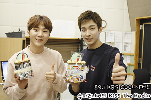 [OFFICIAL] 151113 KBS Kiss The Radio Update (Sukira) w Seventeen's DK and Seungkwan 10P #세븐틴 #도겸 #승관 5
