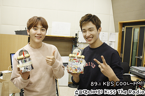 [OFFICIAL] 151113 KBS Kiss The Radio Update (Sukira) w Seventeen's DK and Seungkwan 10P #세븐틴 #도겸 #승관 6