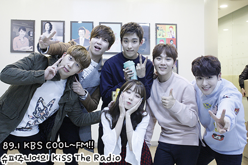 [OFFICIAL] 151113 KBS Kiss The Radio Update (Sukira) w Seventeen's DK and Seungkwan 10P #세븐틴 #도겸 #승관 9