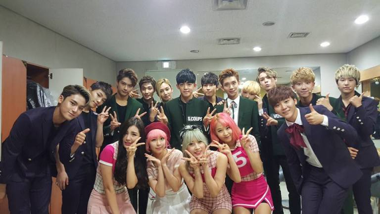 [OFFICIAL] 151114 Seventeen with Asha #세븐틴 #아샤