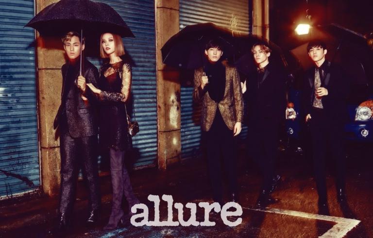 [OFFICIAL] 151118 Seventeen Hip-hop Unit for Allure Korea #세븐틴 #힙합팀 #원우 #에스쿱스 #한솔 #민규 1