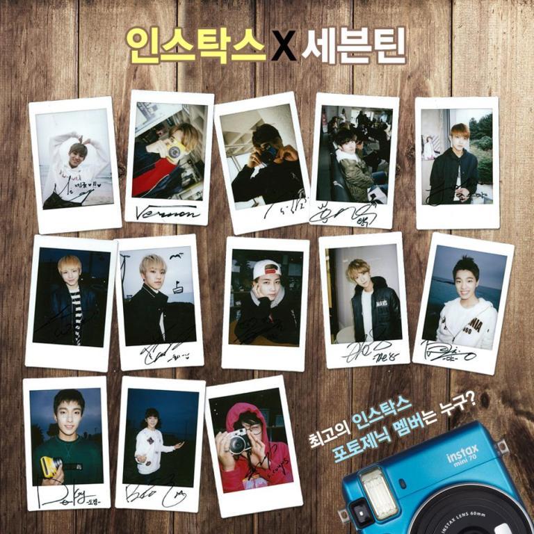 [OFFICIAL] 151125 Fujifilm Korea Update #SEVENTEEN #INSTAX #세븐틴 #한국후지필름