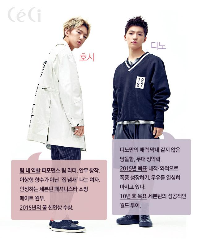 [OFFICIAL] 151128 CeCi Korea Update #세븐틴 #쎄씨 #editor_최디렉 4