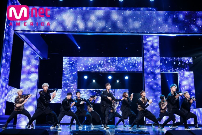 [OFFICIAL] Mnet America Update 150528 M Countdown Seventeen Debut #세븐틴 #아낀다 12