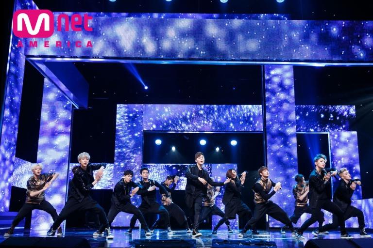 [OFFICIAL] Mnet America Update 150528 M Countdown Seventeen Debut #세븐틴 #아낀다 12