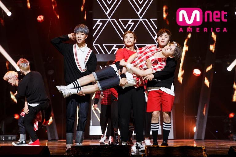 [OFFICIAL] Mnet America Update 150604 M Countdown Seventeen – Adore U #세븐틴 #아낀다 3