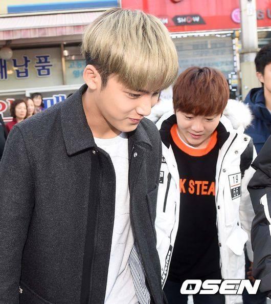 [PRESS] 151112 SEVENTEEN (Mingyu, Seungkwan, Wonwoo, DK) - College Scholastic Ability Test (수능) 41P #세븐틴 (18)