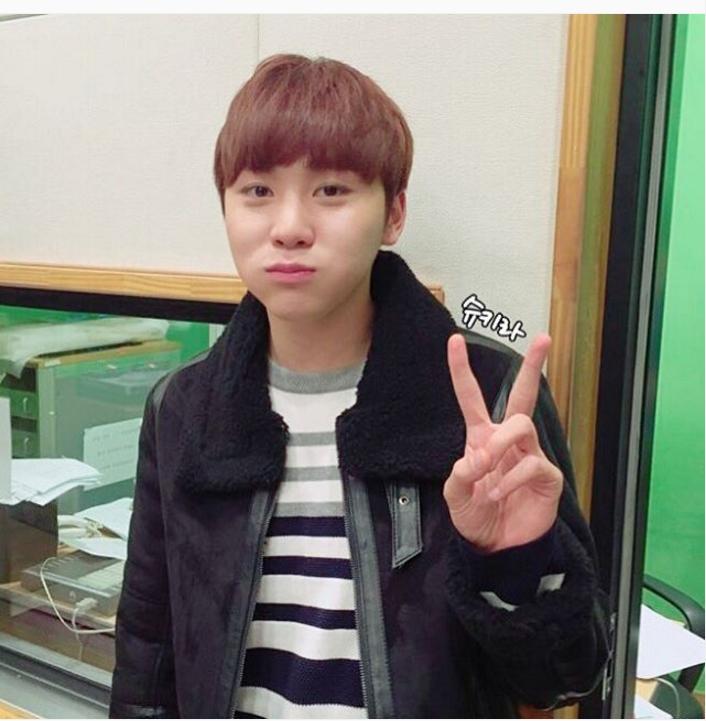 [OFFICIAL] 151210 Sukira Instagram Update #세븐틴 #승관