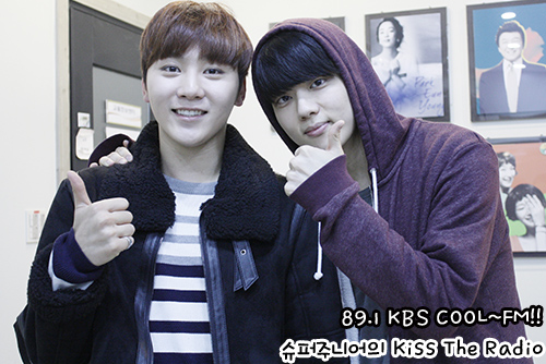 [OFFICIAL] 151212 KBS Kiss The Radio Update (Sukira) w Seventeen's DK and Seungkwan 20P #세븐틴 #도겸 #승관 (10)