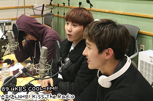 [OFFICIAL] 151212 KBS Kiss The Radio Update (Sukira) w Seventeen's DK and Seungkwan 20P #세븐틴 #도겸 #승관 (15)
