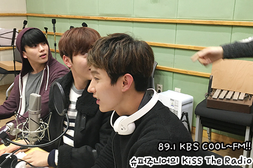 [OFFICIAL] 151212 KBS Kiss The Radio Update (Sukira) w Seventeen's DK and Seungkwan 20P #세븐틴 #도겸 #승관 (17)