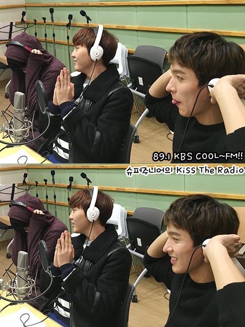 [OFFICIAL] 151212 KBS Kiss The Radio Update (Sukira) w Seventeen's DK and Seungkwan 20P #세븐틴 #도겸 #승관 (20)