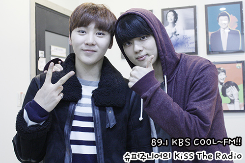 [OFFICIAL] 151212 KBS Kiss The Radio Update (Sukira) w Seventeen's DK and Seungkwan 20P #세븐틴 #도겸 #승관 (9)