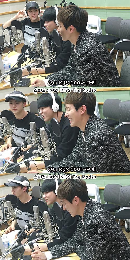 [OFFICIAL] 151217 KBS Kiss The Radio Update (Sukira) w Seventeen's Hoshi, DK and Seungkwan 17P #세븐틴 #호시 #도겸 #승관 (10)