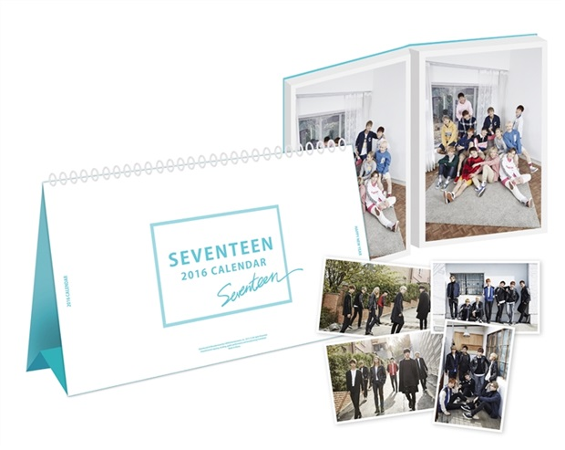 [OFFICIAL] Seventeen 2016 Season's Greeting  Calendar #세븐틴 2