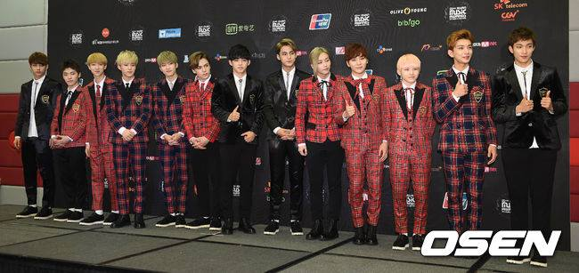 [PRESS] 151202 Seventeen at 2015 MAMA Artist Welcome Meeting #세븐틴 (16)