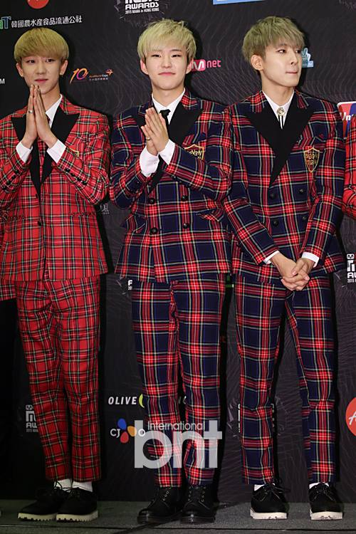 [PRESS] 151202 Seventeen at 2015 MAMA Artist Welcome Meeting #세븐틴 (4)