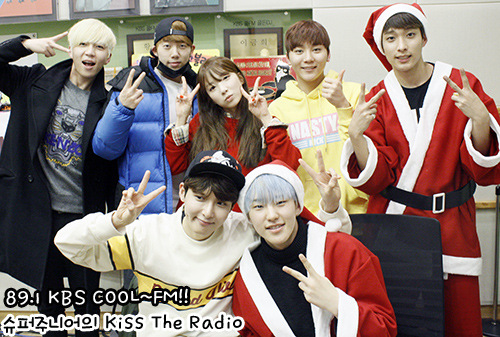 [OFFICIAL] 160101 KBS Kiss The Radio Update (Sukira) w Seventeen's Hoshi, DK and Seungkwan 17P #세븐틴 #호시 #도겸 #승관 (2)