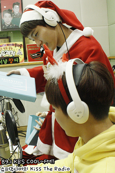[OFFICIAL] 160101 KBS Kiss The Radio Update (Sukira) w Seventeen's Hoshi, DK and Seungkwan 17P #세븐틴 #호시 #도겸 #승관 (9)