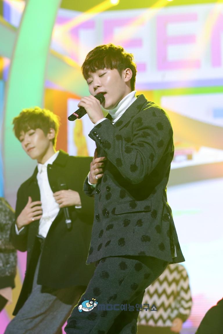 [OFFICIAL] 160102 MBC예능연구소 Twitter Update 25P #세븐틴 #2015MBC가요대제전 (13)